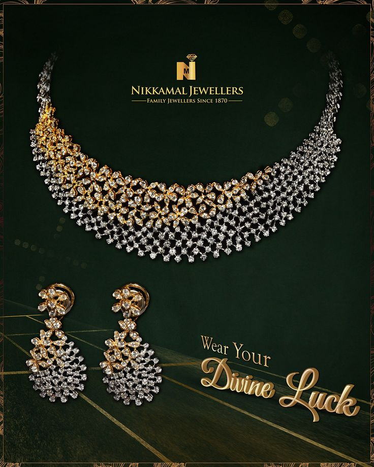 Wear Your Divine Luck!! Buy it at Nikkamal Jewellers, Ludhiana & Jalandhar Showrooms