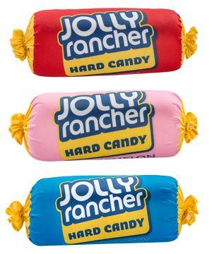 Jolly Rancher Pillows