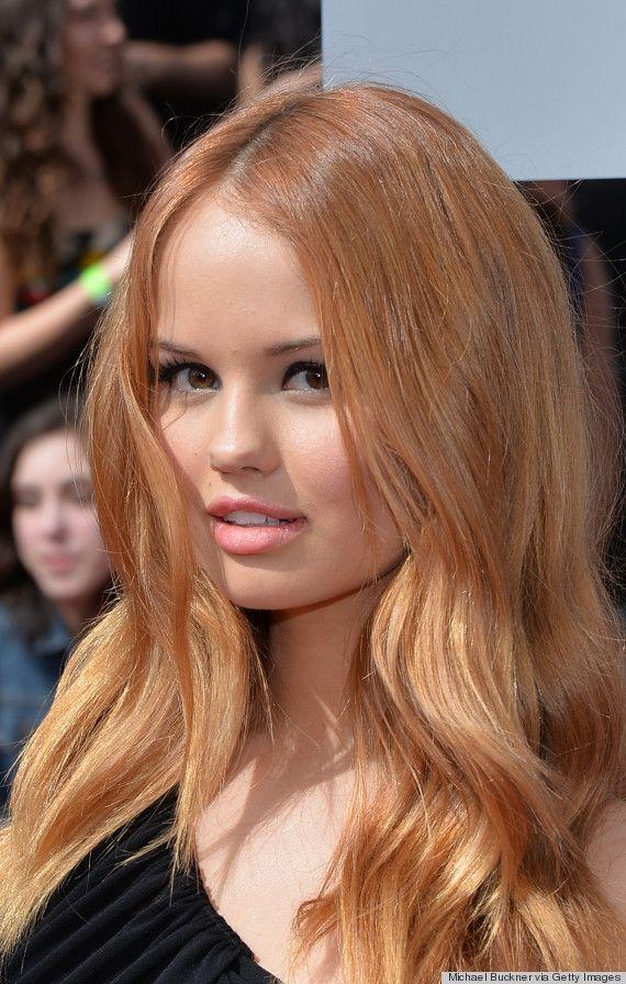 Debby Ryan's sun-kissed hair  http://www.huffingtonpost.com/2014/04/14/mtv-movie-awards-2014-hair-makeup_n_5143842.html?utm_hp_ref=style&ir=Style?utm_hp_ref=style&ir=Style