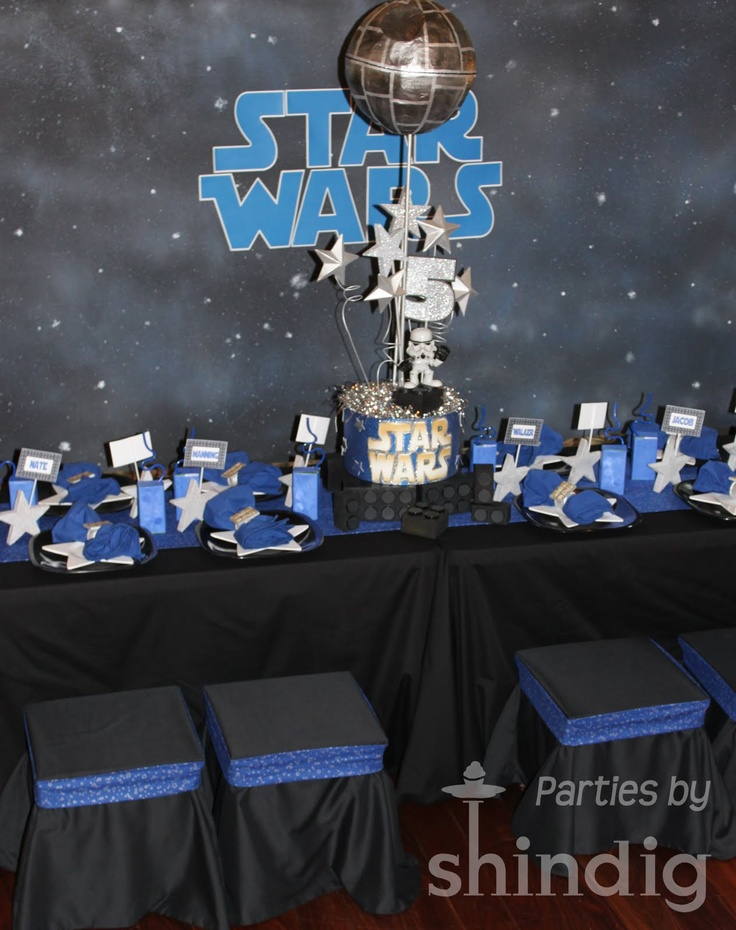 Amandas Parties TO GO Star Wars Party Details