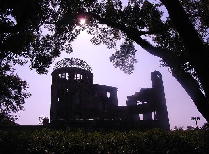 (со страницы Japanese Dolls - Хиросима - Мемориальный парк мира)