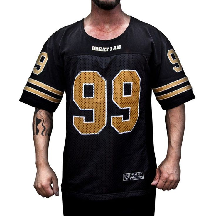 Nueva camiseta NFL 99 de GREAT I AM, todo un lujo para el gimnasio y fuera de él, ahora en https://www.tiendaculturista.com/camisetas/great-i-am-sudadera-rag-top-american-99-2590.html