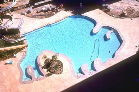 9 best images about odd shaped swimming pools on pinterest for Aquabond paint