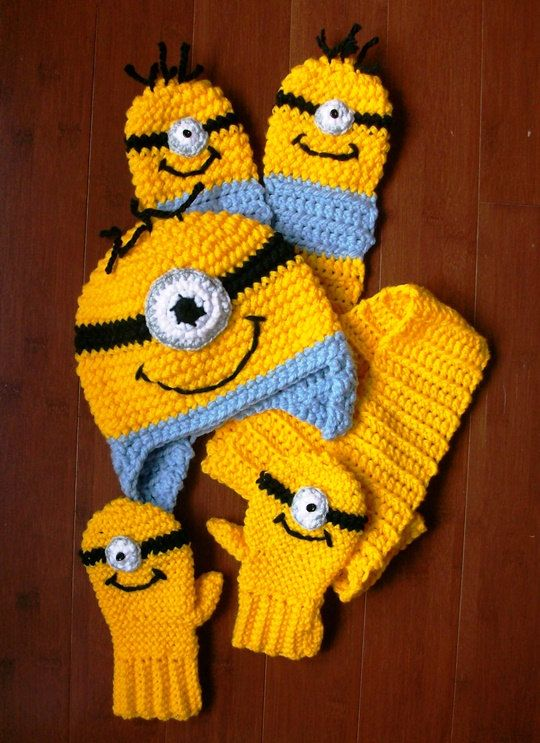 121 Best Minions Images On Pinterest Crochet Minions Crochet Toys