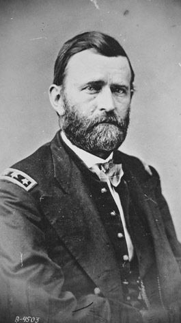 Union General Ulysses S. Grant from the National Archives