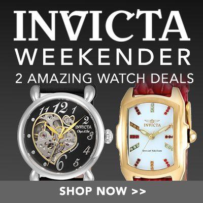 Invicta Weekender 2 AMAZING WATCH DEALS at Evine - 650-164, 649-068