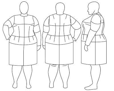 As empresas que passaram a criar roupas para mulheres acima do peso justificam a iniciativa com uma história que se repete: as lojistas ...