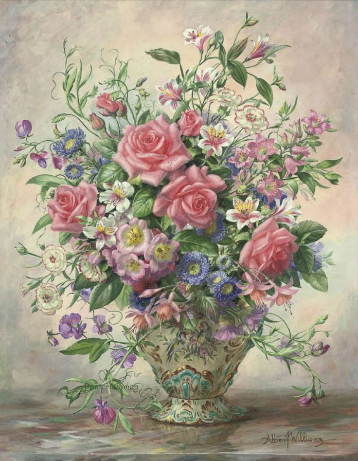 artista Albert Williams (1922-2010).