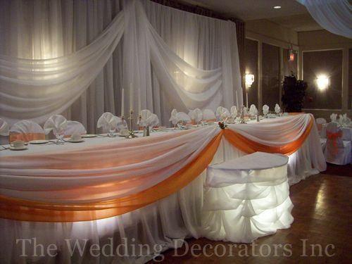 Reception, Orange, Decor, Bridal, Table, Elegant, Theme, The wedding decorators inc, Colour