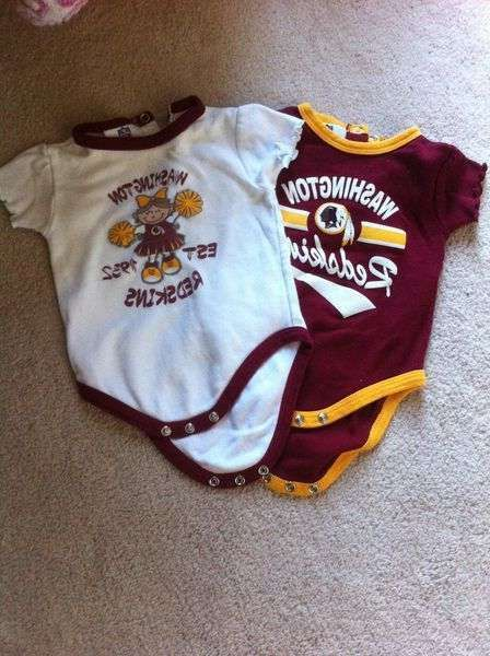 awesome Redskins Baby Apparel