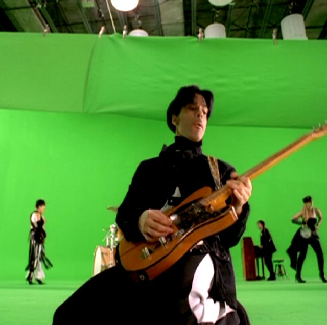 "I think this is the making of the video for ""Cinnamon Girl."""