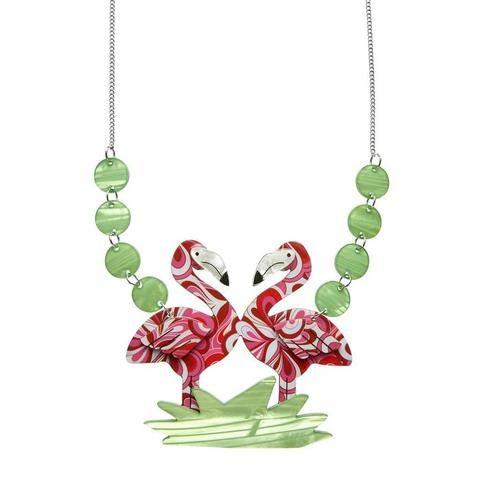 Erstwilder Flamboyant Flamingo Fair Necklace