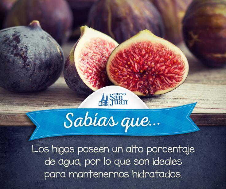 #Sabíasque #higos #hidratación #HuevoSanJuanMX