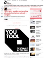 http://www.ninjamarketing.it/2011/10/04/youtool-un-laboratorio-on-line-che-mette-in-relazione-aziende-e-designer/