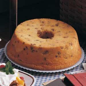 Black Walnut Sour Cream Pound Cake