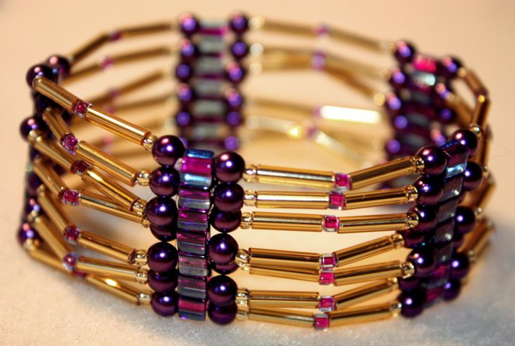 A.I.F Jewelry: I love the purple and gold combo
