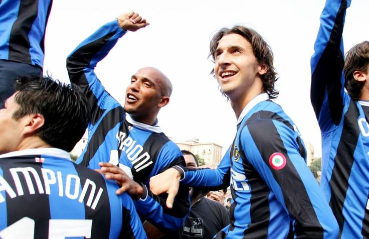 Olivier Dacourt et Zlatan Ibrahimovic