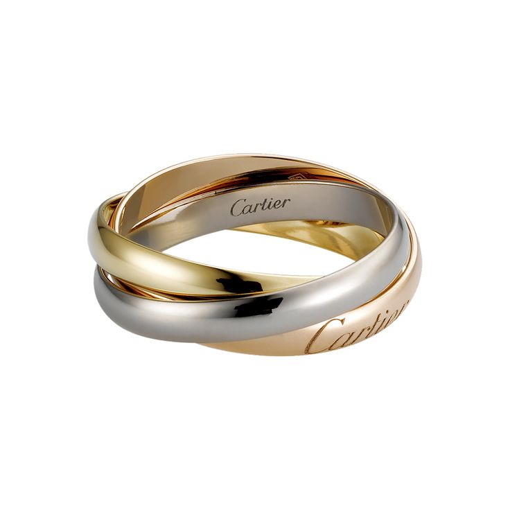 Cartier Trinity Wedding Ring: Cartier Trinity Ring $1140