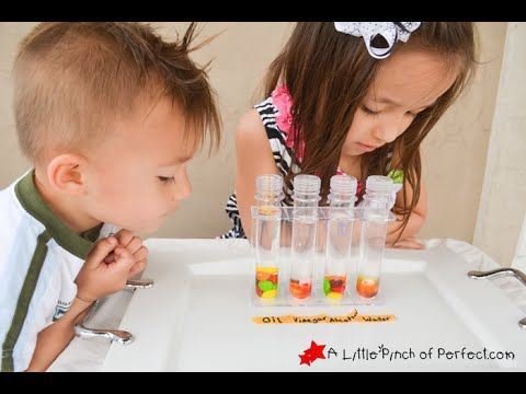 Candy Science Experiment: Testing Solubility with Skittles + Video -