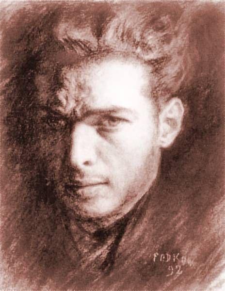 Wladyslaw Podkowinski - Self-portrait, 1892