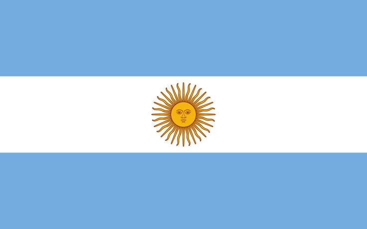 Drapreau : Argentine : 1812