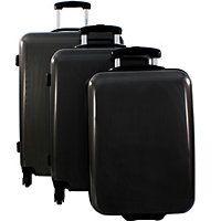 Lot de 3 bagages pas chers dont valise 1 cabine Ryanair David Jones