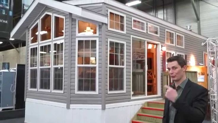 Join Brad to learn about our 2 bedroom Fairmont Park Model #homeandgardenshow #summerhome