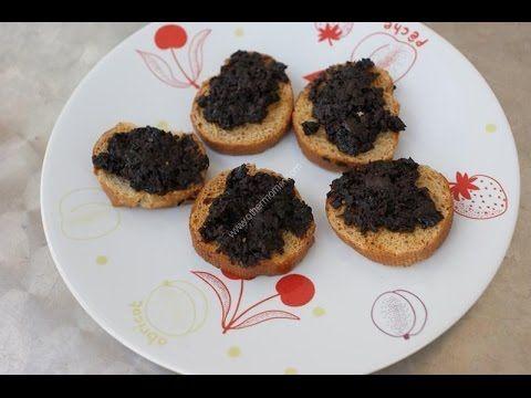 ▷ Tapenade aux olives noires thermomix, recette thermomix entrées
