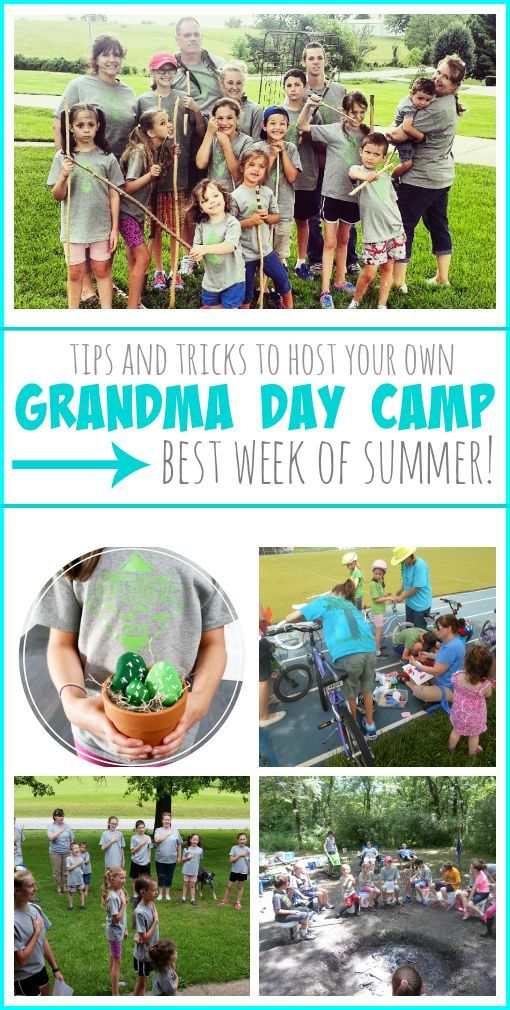 Tips and tricks to planning and hosting your own Grandma Day Camp - the kids LOVE it and look forward to it every year from MichaelsMakers Sugar Bee Crafts