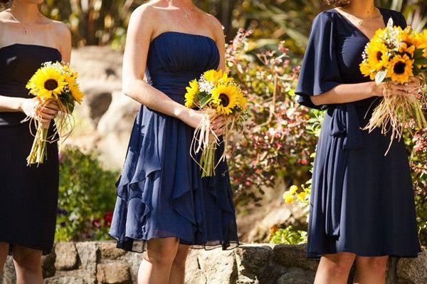 Rustic Sunflower Wedding Ideas and Wedding Invitations |