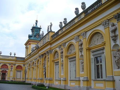 Wilanów Palace, near Warszawa