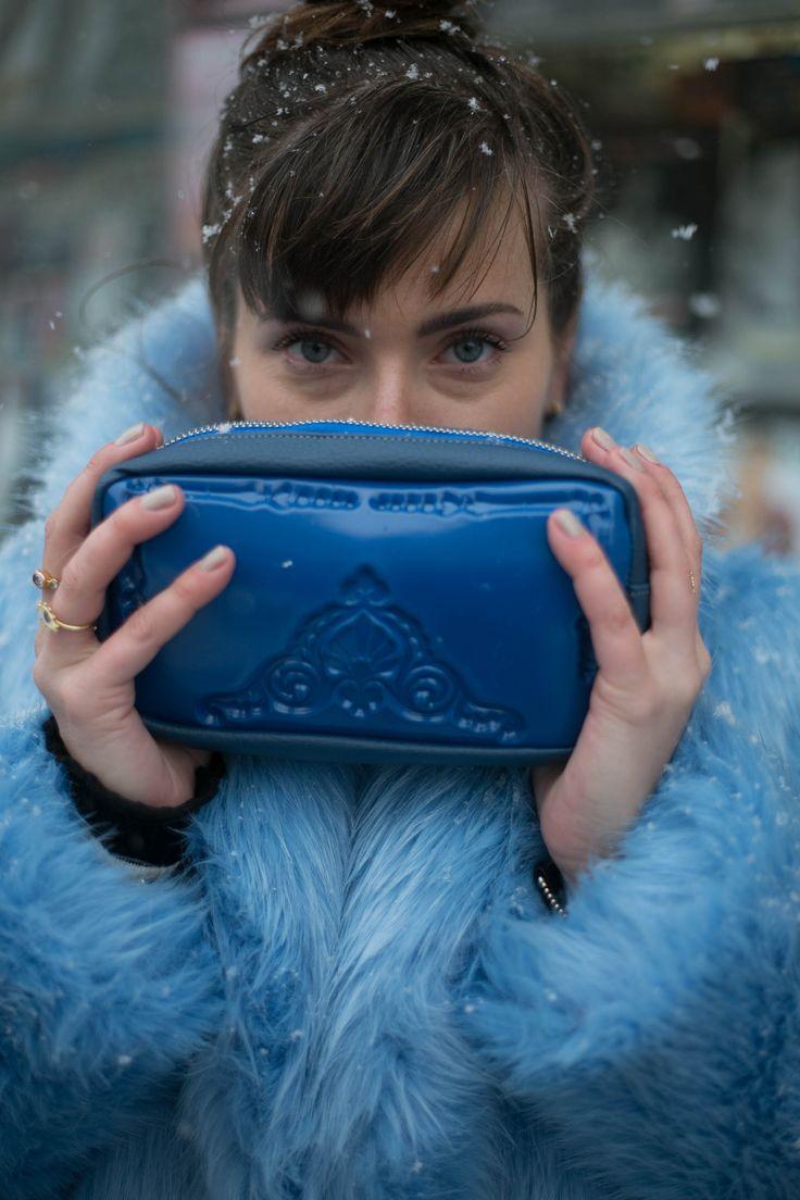MeDusa Bags -Pouch blue by Messineo_Patrizia
