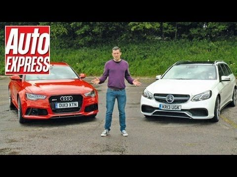 Super Estate Wars: #Audi RS6 vs #MercedesBenz E63 AMG Review [AutoExpress]