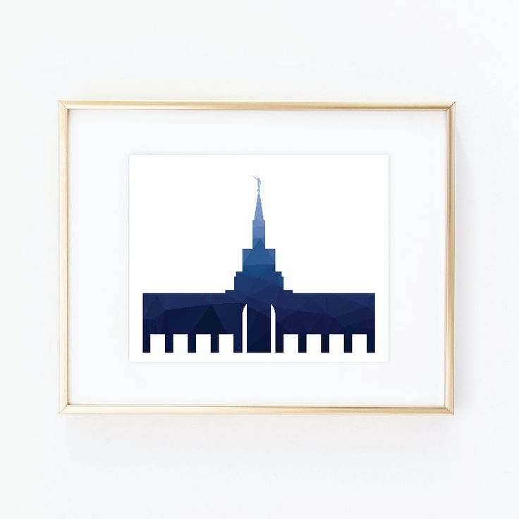 Toronto Temple, LDS Temples, House of the Lord, LDS Printable, LDS Prints, Lds Wall Art, Lds Instant Download, Lds minimalist, Lds Modern by QuotableStuff on Etsy