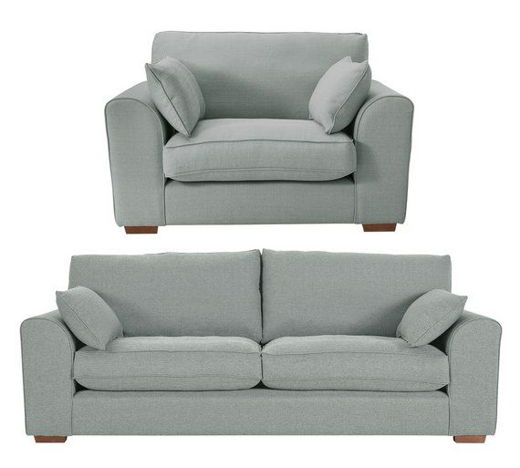 Buy Collection New Ashdown 4 Seat Sofa and Cuddle Chair - Grey at Argos.co.  Cuddle ChairLiving Room ... - 25+ Best Ideas About Cuddle Chair On Pinterest Cabin Furniture