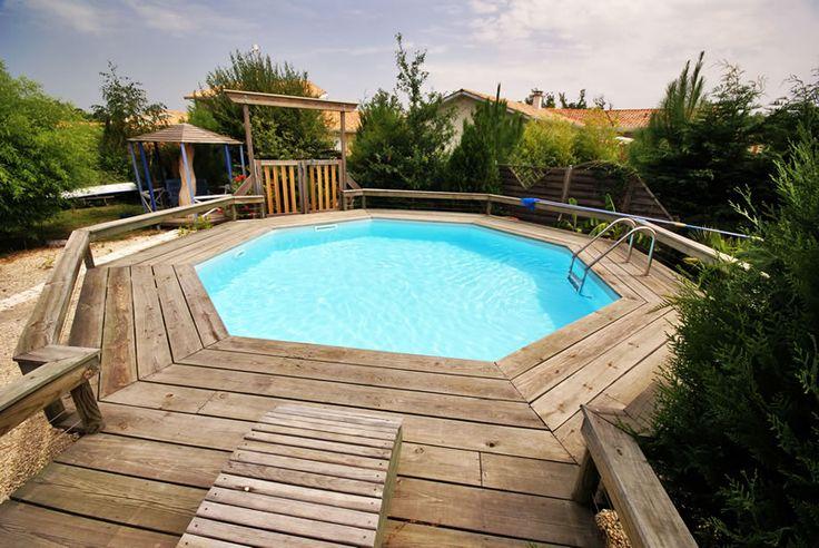 Oltre 25 fantastiche idee su piscine fuori terra su for Piscina fuori terra interrata