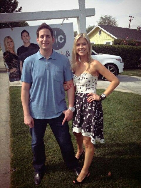 "Christina El Moussa from HGTV's ""Flip or Flop."" Love this dress."