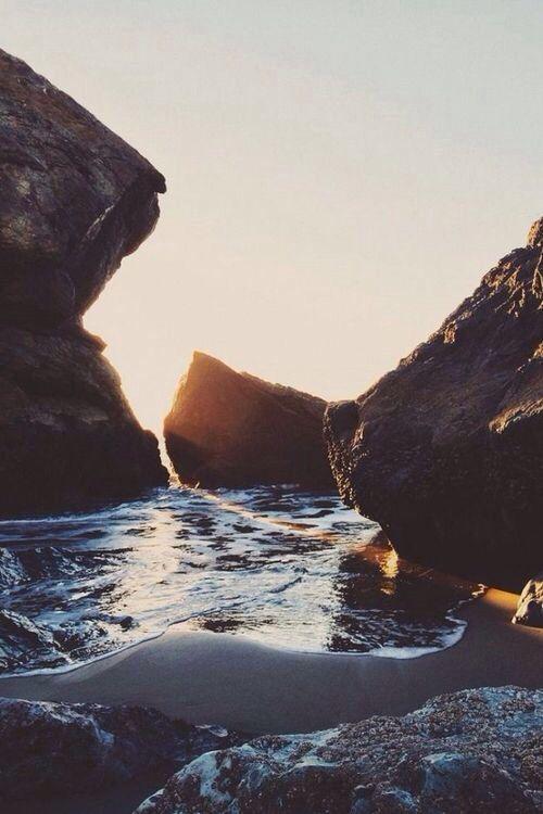#sea #rocks