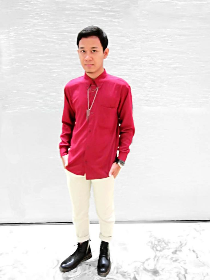Fahmy Haryandi with red-white concept for Indonesia Independece Day