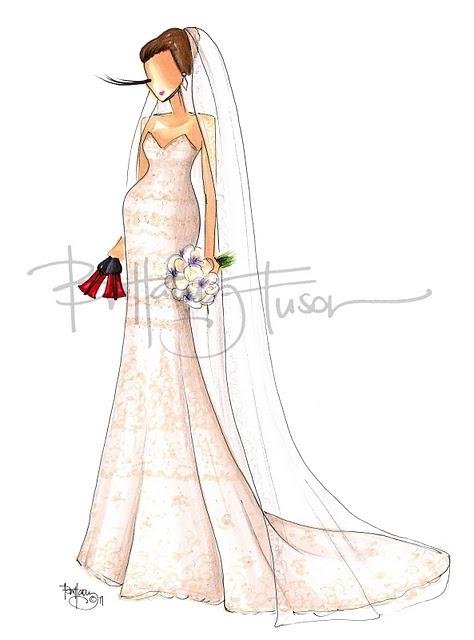 Custom Illustration @Lindsay Harper Jakubauskas - fashion illustration