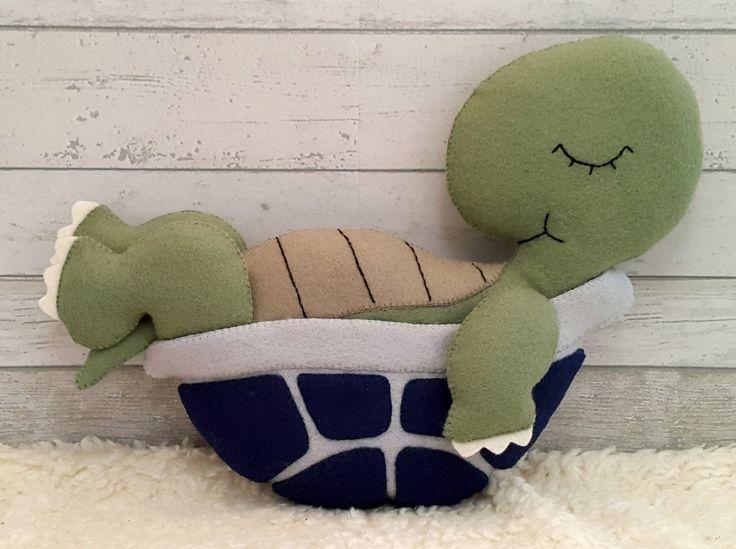 Fühlte mich Muster Tony die Schildkröte Softie von SuperSkattig