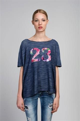 Labelladonna.gr - Μπλούζα New Line 23