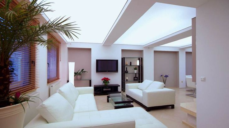 Plafond tendu design soriano                                                                                                                                                                                 Plus