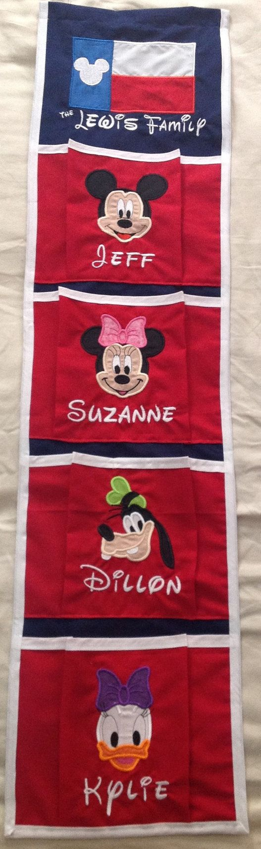 Disney Cruise Line Fish Extender 4 Pocket by MagicalDreamsBoutiqu, $45.00