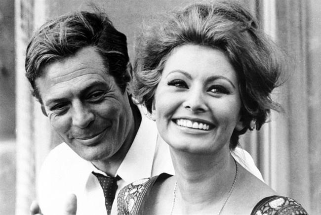 Sofia Loren & Marcello Mastroianni