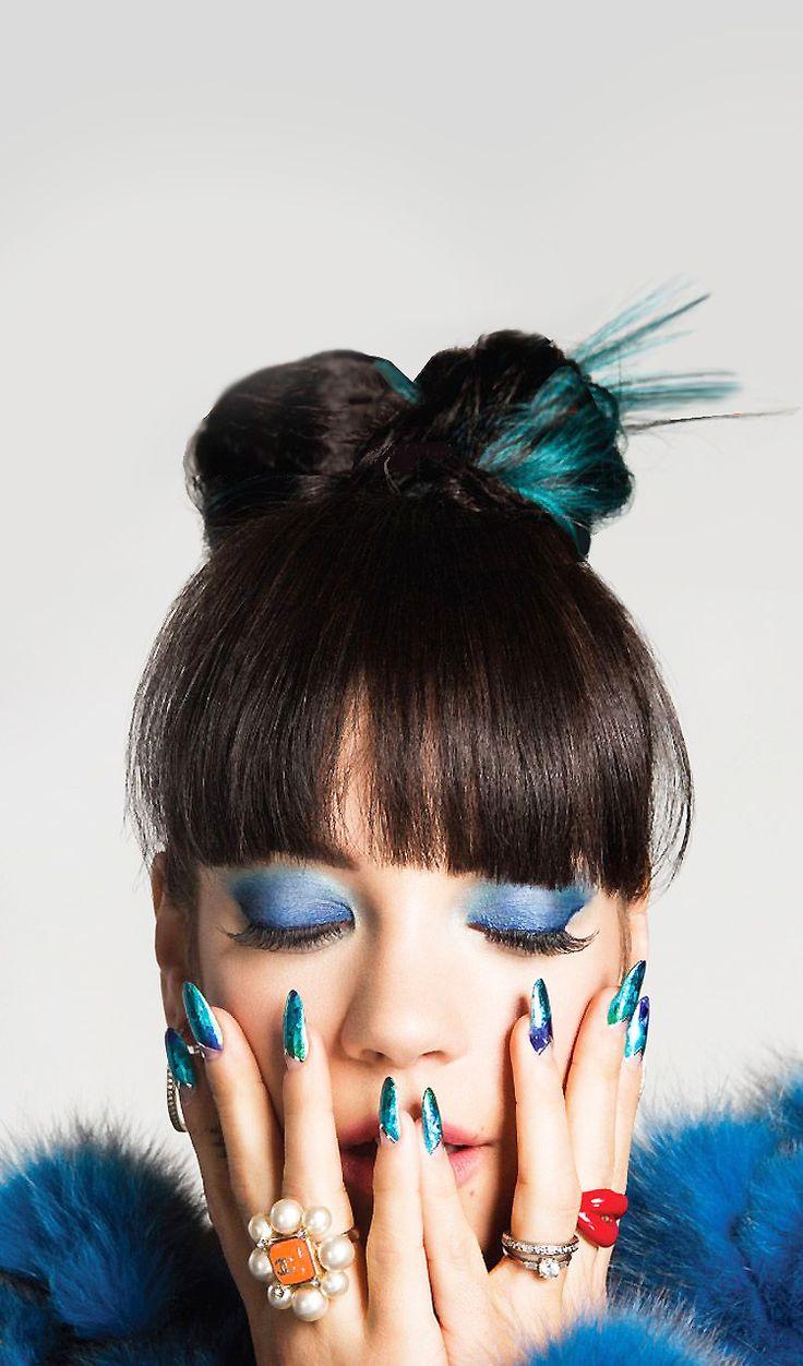 Lily Allen for Paper Magazine Summer 2014 by Damon Baker
