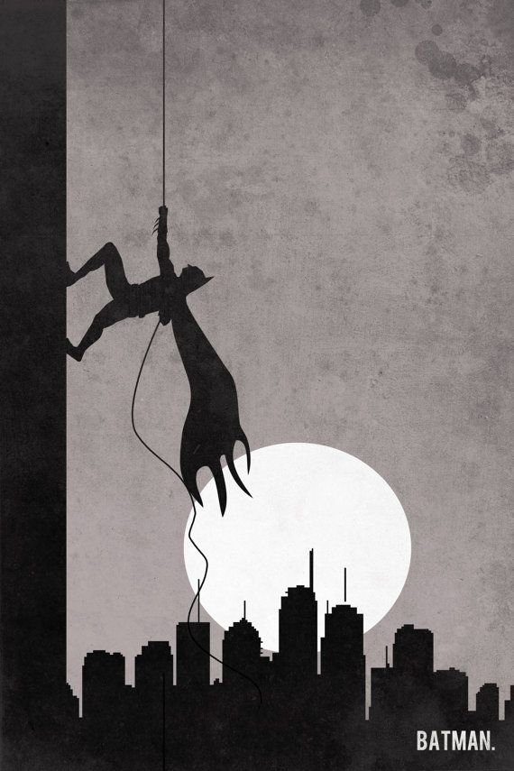 Batman-retro-poster-minimalist-art-movie-poster-print-art-poster-print-Batman-Climb.jpg 570×855 pixels