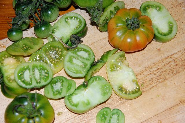 Blog post at Penny's Recipes :  green tomato chutney Abundant Green Tomatoes