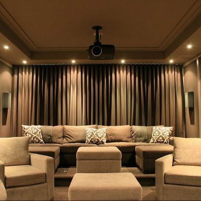 media room lighting ideas. media room design pictures remodel decor and ideas lighting e