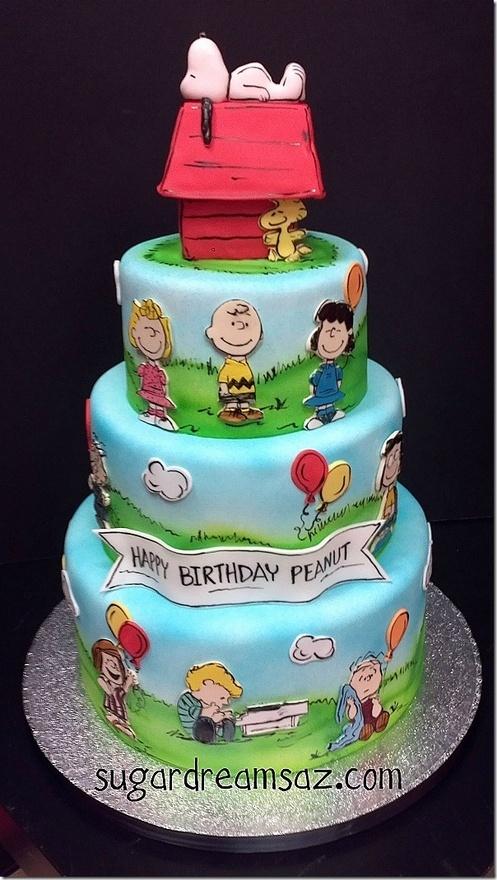 Charlie Brown cake!
